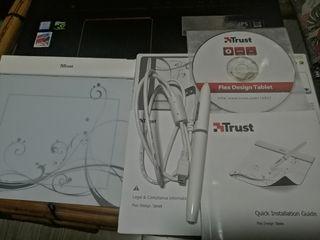Tableta gráfica Trust Design