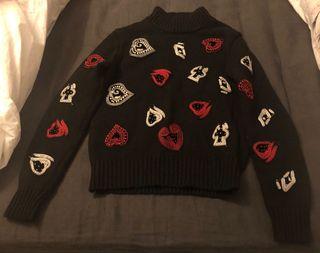 Jersey bordados Zara