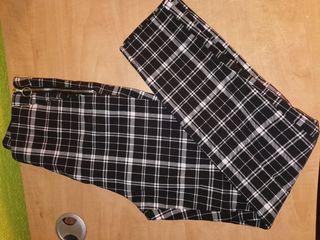 pantalon de cuadros nuevo