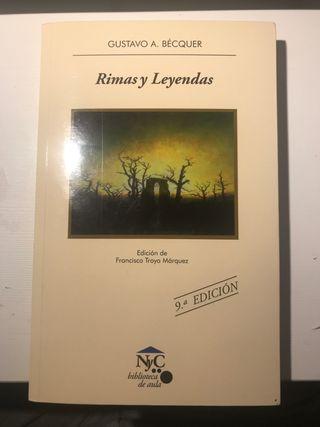 Rimas y Leyendas de Gustavo A. Bécquer