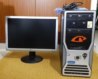 Ordenador Fijo Completo Intel Core 2 Duo.
