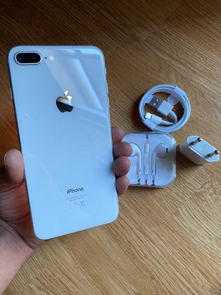 iPhone 8 Plus 64Gb Blanco 100% Batería GARANTIA