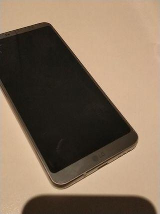 LG G6 Platinum Con Caja y Cargador