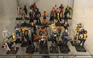 Marvel figurine plomo xmen spiderman