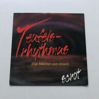 VINILO SCROT 1990 TEUFELSRHYTHMUS