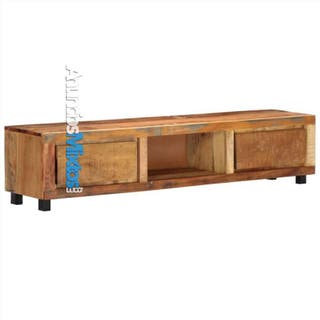 Mueble para la TV 150x30x33 cm madera maciza recic