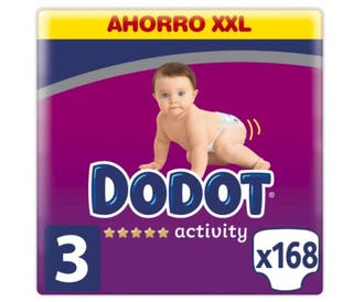 DODOT activity - Talla 3 (6-10kg). 168 unidades