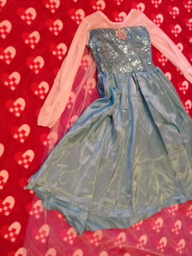 Disfraz Princesa Elsa Frousen