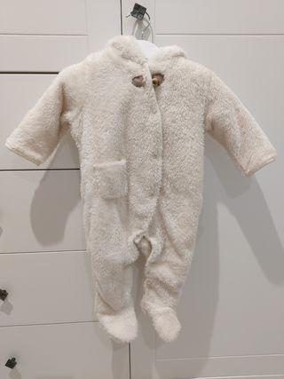 buzo polar mono bebé