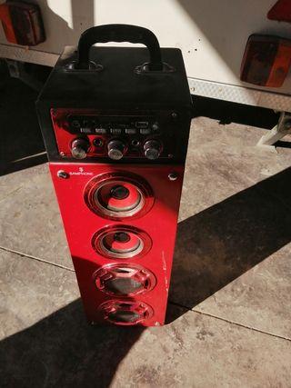 torre sonido samphone