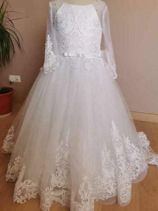Vestido de Comunión Princesa talla 9
