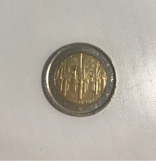 Moneda 2 euros Alhambra