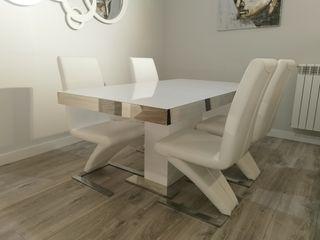 Conjunto mesa comedor y 4 sillas Zeta