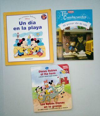 Libro Disney bilingüe inglés, Tito Cuentacuentos