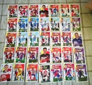 76 cromos Ediciones Este La Liga 2020/21