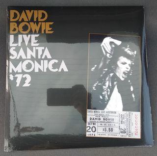"David Bowie: ""Live Santa Monica '72"" (2xVinilos)"