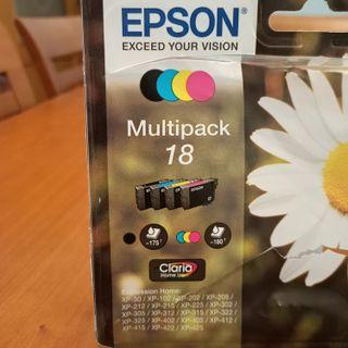 cartuchos EPSON nuevos modelo XP-......