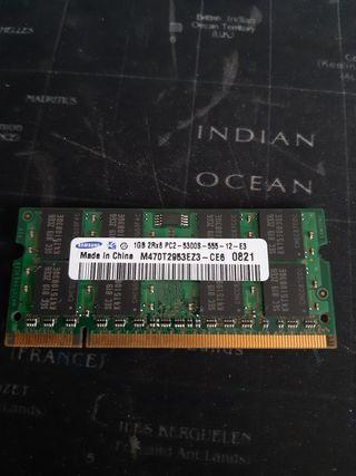 memoria ram ddr3 1gb