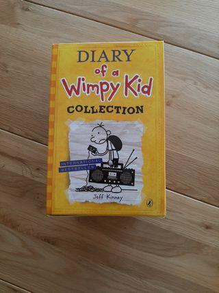 Diario de Greg en ingles 10 libros. JEFF KINNEY