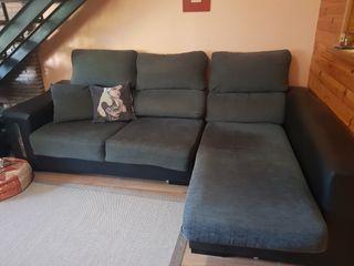 Sofá Chaiselongue de 3 plazas