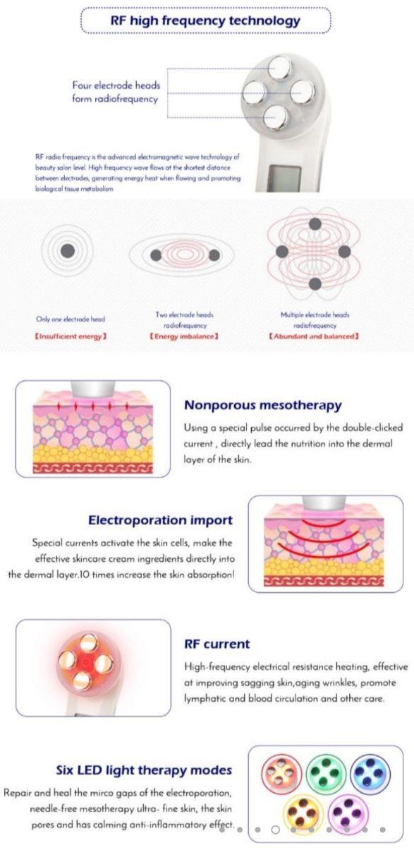 masajeador multifuncional terapéutico colores