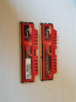 Memoria RAM GSKILL: 8 GB DDR3 1600