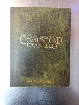 El Señor de Los Anillos, La Comunidad..., DVD