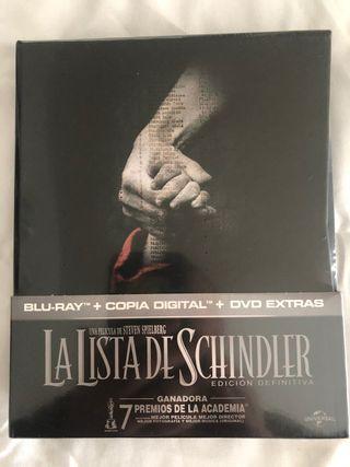 LA LISTA DE SCHINDLER (EDICIÓN DEFINITIVA) Blu-ray