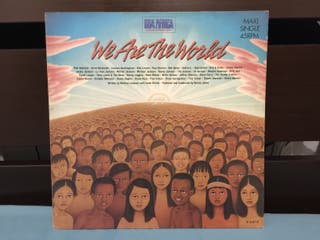 Michael Jackson We Are The World Maxi Single