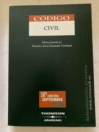 Código Civil thomson arazandi