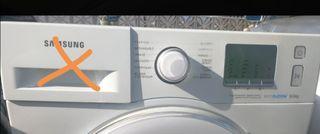 frontal y centralita lavadora