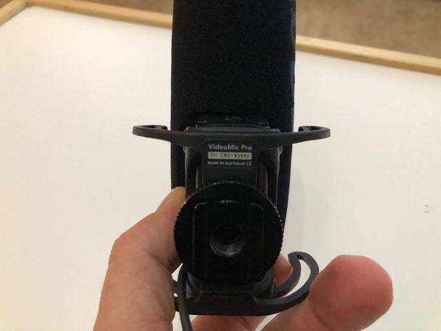 Micrófono cámara DSLR externo Rode