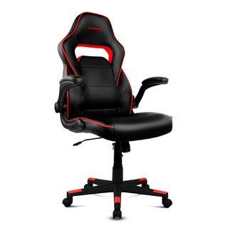 Drift DR75 Silla gaming negra/roja