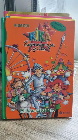 Lote 4 libros Kika súper bruja x 28€
