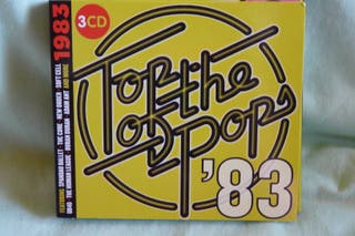 "TRIPLE CD ""TOP OF THE POP'S 83"" RECOPILATORIO 80'"