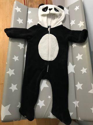 Pijama polar/disfraz 9 meses