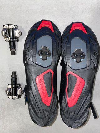 Zapatillas, Calas y pedales Shimano