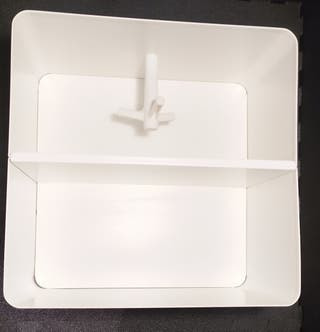 Estante blanco IKEA Brickan