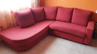 Sofá cama + rinconera