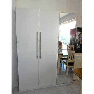 Armario grande blanco 3 puertas espejo(TENEMOS 2!)