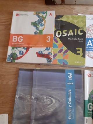 Libros de 3 ESO. IES SALINAS