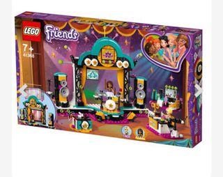 Lego friends 41368. Espectáculo Andrea. A estrenar