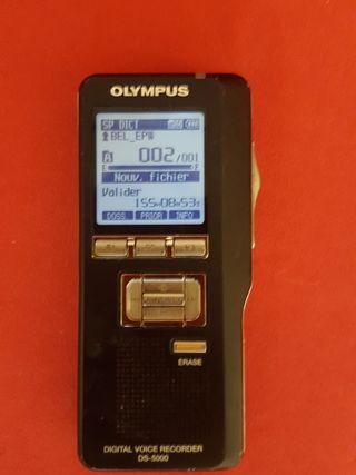 Olympus Digital voice recorder ds 5000