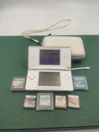 Consola Nintendo DS Lite +6 Juegos