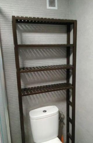 estanteria molger sobre inodoro ikea segunda mano