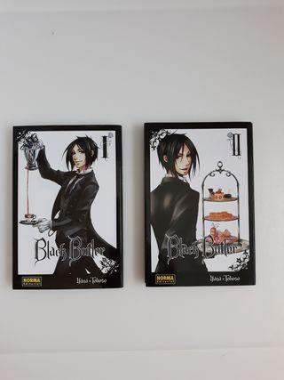 libros de manga Black Butler.
