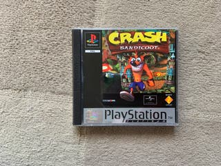 Crash Bandicoot juego PS1
