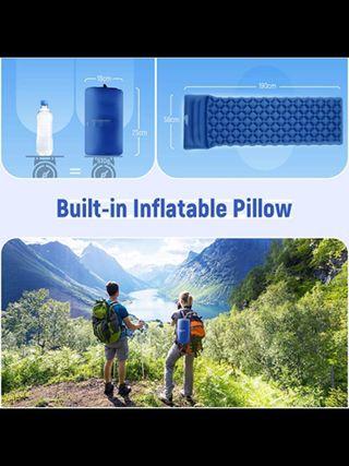 Colchón inflable para camping