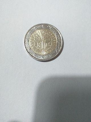 Moneda 2 euros Francia 2015