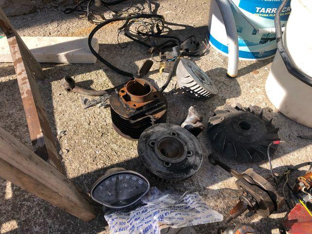 Lote piezas piaggio vespa pk75 pk125 primavera